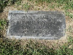 Annie Mae <i>Keister</i> Brown