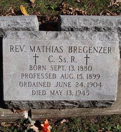 Rev Mathias Bregenzer