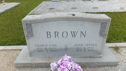 Annie <i>Spence</i> Brown