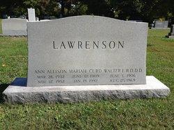 Ann Allison Lawrenson