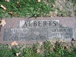 Marie G <i>Falgier</i> Alberts
