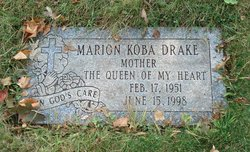 Marion <i>Koba</i> Drake