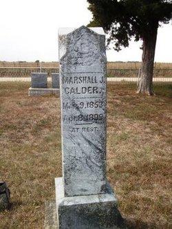 Marshall J Calder
