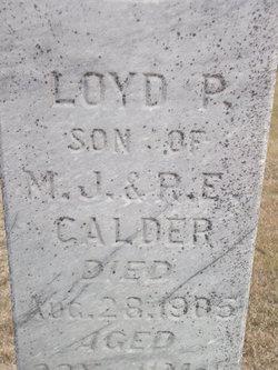 Loyd P Calder