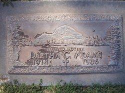 Dartha C. <i>Crocker</i> King Adams