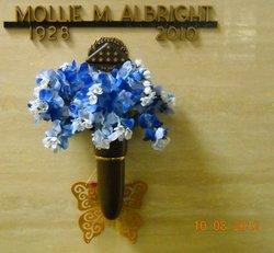 Mollie M Albright
