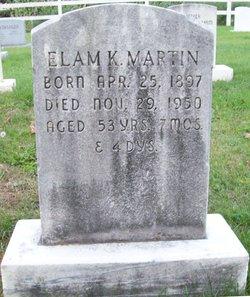 Elam K Martin