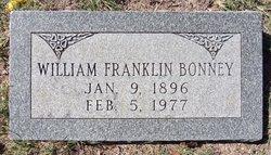 William Franklin Bonney, Sr