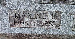 Maxine L Adams