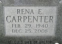 Rena Elizabeth <i>Jones</i> Carpenter