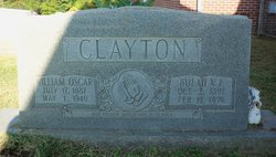 Bulah V Clayton, E