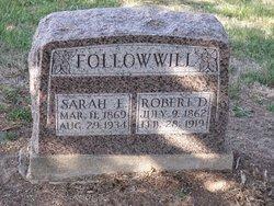 Sarah E. <i>Burgin</i> Followwill