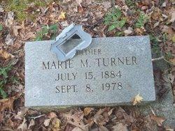 Mrs Marie <i>Mays</i> Turner