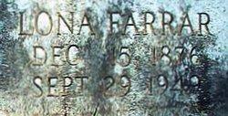Lona <i>Farrar</i> Clark