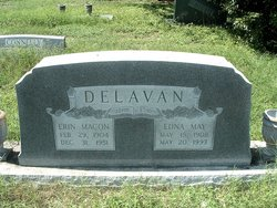 Edna May <i>Johnston</i> Delavan