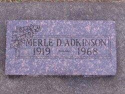 Merle Dwaine Adkinson