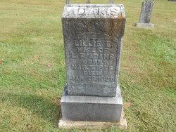 Lillie Elizabeth <i>Alexander</i> Adams