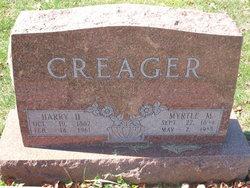 Myrtle M <i>Smith</i> Creager