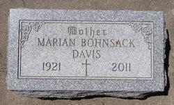 Marian Minnie <i>Bohnsack</i> Davis