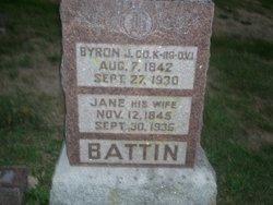 Byron J Battin