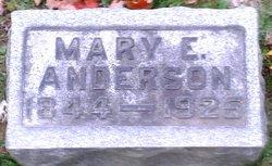 Mary E. <i>Cheney</i> Anderson