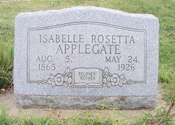 Isabelle Rosetta Belle <i>King</i> Applegate