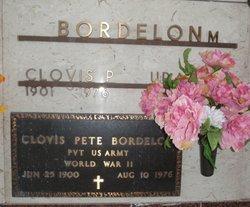 Clovis Pete Bordelon
