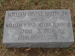William Irvine Booth, Jr