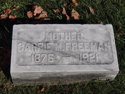 Carrie M <i>Gearhart</i> Freeman