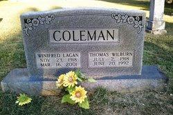 Winifred <i>Lagan</i> Coleman