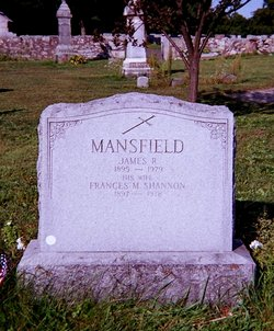 Frances M <i>Shannon</i> Mansfield