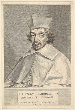 Cardinal Alphonse-Louis Du Plessis De Richelieu