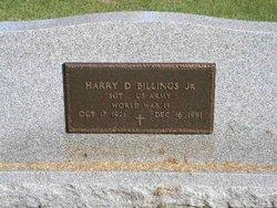 Sgt Harry Dale Billings, Jr