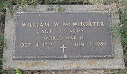 William W Dub McWhorter
