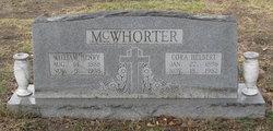 William Henry McWhorter, Sr