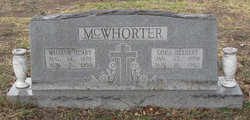 Cora Ethel <i>Helbert</i> McWhorter