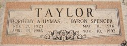 Dorothy Agnes <i>Hymas</i> Taylor