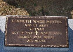 Sgt Kenneth Wade Meyers