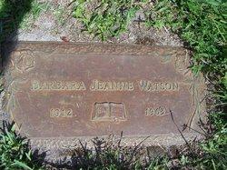 Barbara Jeanne Watson
