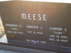 Clinton J Clint Meese