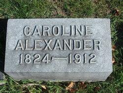 Caroline <i>Hankins</i> Alexander