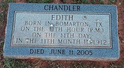 Edith <i>Dibala</i> Chandler
