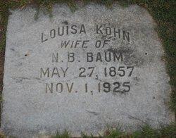 Louisa <i>Kohn</i> Baum
