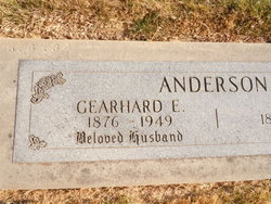 Gearhard E Anderson