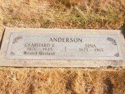 Sina C Anderson