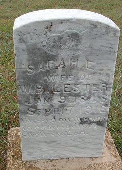 Sarah Elizabeth <i>Gibson</i> Lester