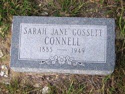 Sarah Jane <i>Gossett</i> Connell
