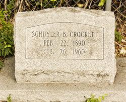 Schuyler B Crockett