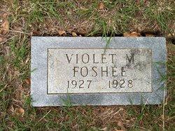 Violet M Foshee