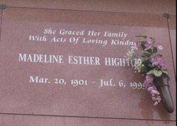Madeline Ester <i>Veazey</i> Hightower